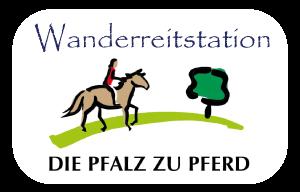 Wanderreitstation-Button
